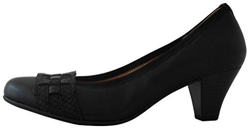 Gabor Shoes Fashion 35.480.57 Chaussures femme, Escarpins, Chaussures à talons Cuir Black
