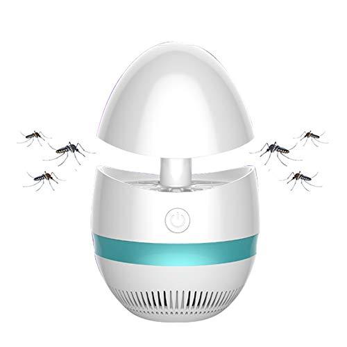 JELA Startseite Aleekit Cute Mückenschutz Mückenvernichter Lampe Pest Repeller LED UV Licht Insektenvernichter Trap Control Mute Keine Strahlung (Color : Blue)