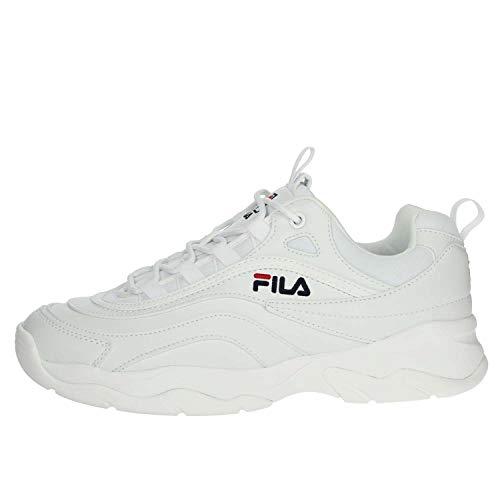 Fila Herren Ray Low 1010561-1FG Sneaker, Weiß (White), 43 EU