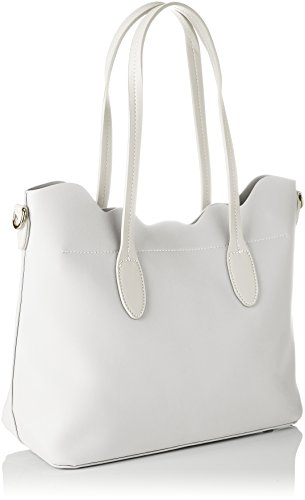 David Jones - Cm3784, Borse Tote Donna Bianco (White)