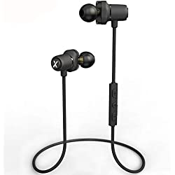 Auriculares Inalámbricos Deportivos Bluetooth 4.2 Magnéticos LiteXim Wireless Auriculares con Micrófono Cancelación de Ruido Cascos Manos Libres In-Ear Stereo Compatible iPhone Xiaomi Huawei Sumsung
