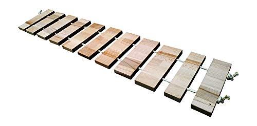 Chrischii84 Hängebrücke für Katzen, 20cm breit, Buche massiv (80cm lang)