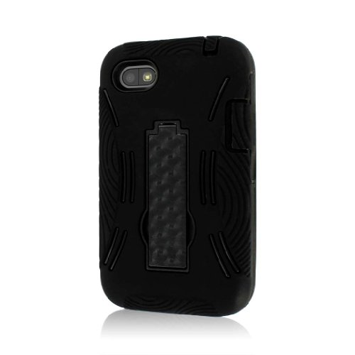 Empire MPERO IMPACT XL Series Kickstand Case Tasche Hülle for BlackBerry Q5 - Schwarz