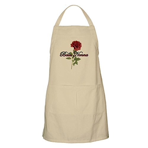 CafePress - Bella Nonna BBQ Apron - Kitchen Apron with Pockets