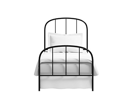 The Original Bedstead Company Waldo Single Size Bed (Satin Black)