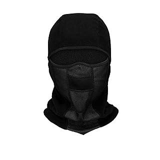 QAZWSX Winter Ski Maske Balaclava Winddicht Atmungsaktiv Schnell Trocknend Motorrad Nackenwärmer Outdoor Sports Radfahren Hut,E