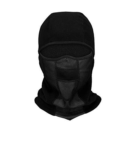 QAZWSX Winter Ski Maske Balaclava Winddicht Atmungsaktiv Schnell Trocknend Motorrad Nackenwärmer Outdoor Sports Radfahren Hut,E -