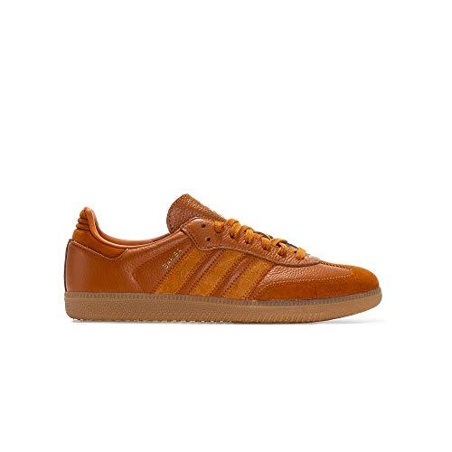 adidas Originals Samba OG FT Sneaker Herren Braun - 41 1/3 - Sneaker Low