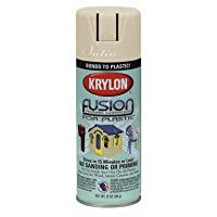KRYLON 2437 FUSION SPRAYPAINT 12 OZ ALMOND (pack of 6)