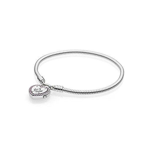 Pandora bracciale con charm donna argento - 596586fpc-19