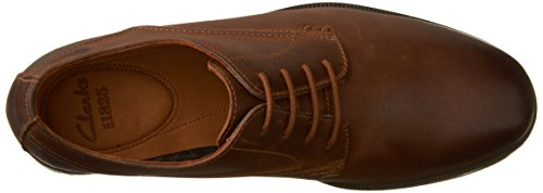 Mens Leather Walk Clarks Tan Brocton HxqxwF1an