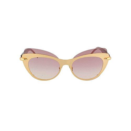 Pomellato pm0046s occhiali sole donna 002-gold-violet-violet