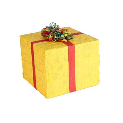 amscan 9903133 Pinata Birthday Present Spielzeug, Mehrfarbig