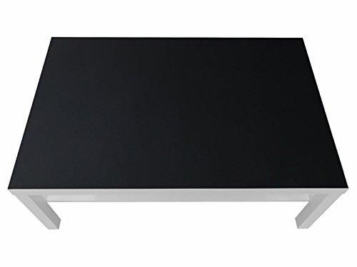 Kreidefolie / Tafelfolie - KF05 - passgenau für den LACK Couchtisch (118 x 78 cm) von IKEA - In wenigen Minuten zum bemalbaren Spieltisch für Kinder! (Möbel nicht inklusive)