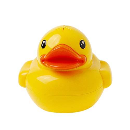 F-blue Ente Baby-Bad-Spielzeug-Wasserfall Auto Brunnen Wasserpumpe Cartoon-Ente Kind-Kind-Schwimmen Spielen Wasserspielzeug