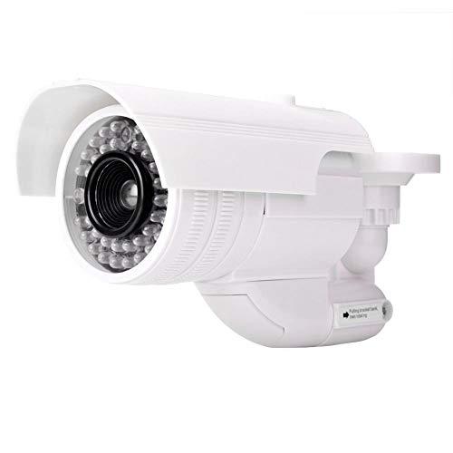 Gefälschte Kamera, wasserdichte Sicherheits Dummy Kamera mit internen blinkenden LEDs, drehbarer Entwurf für Innen/Außen
