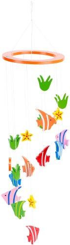 Playtastic Spielwaren: Holz-Mobile (Babyspielzeug) Fisch Mobile