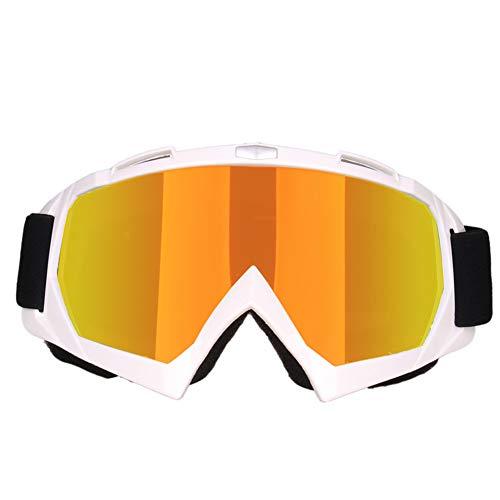 Man9Han1Qxi Faltbare Motorrad Radfahren Dirt Bike Motocross ski Anti-uv Winddicht uv schutzbrille Eyewear 6#