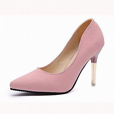 Moda Donna Sandali Sexy donna tacchi Primavera / autunno Altri nozze sintetico / Ufficio & Carriera / abito / Casual Stiletto Heel altri nero / rosa / grigio altri Pink