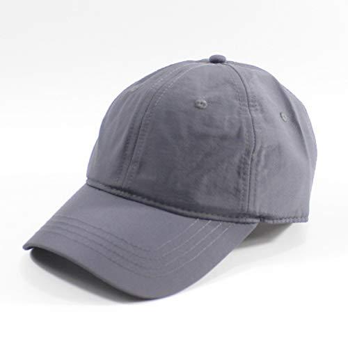 sdssup Herren Hut Outdoor Big Head Baseball Cap schwarz schnell trocknend Large Hat XL Kappe Visier vertiefen deep L (60-64cm)