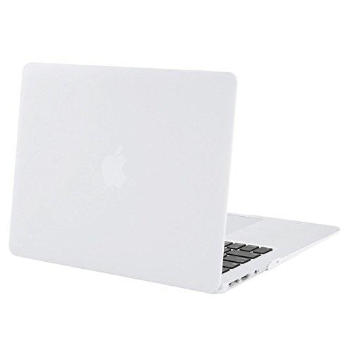 MOSISO Funda Dura Compatible MacBook Air 13 Pulgadas (A1369 / A1466, Versión 2010-2017), Ultra Delgado Carcasa Rígida Protector de Plástico Cubierta, Blanco