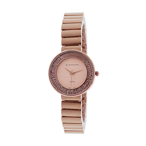 Giordano Analogue Rose Gold Dial Women's Watch