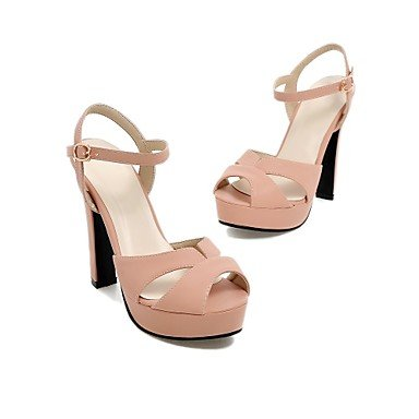 LvYuan Da donnaFormale-Tacchi / Spuntate / Aperta-A stiletto-Finta pelle-Nero / Blu / Rosa / Bianco / Beige Pink
