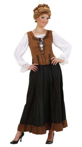 Widmann 89571 - Bauern-Kostüm für Damen, Größe S