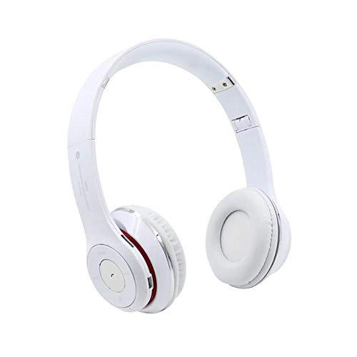 Écouteurs S460 Pliable sans Fil Bluetooth 4 0 Casque Sport Stereo Écouteur FM Radio Casque De Jeu avec Micro pour Pc Mobile Téléphone Mp3 Blanc