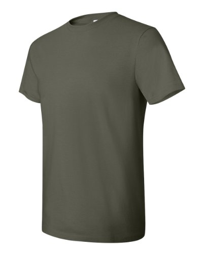 HanesHerren T-Shirt Grün - Fatigue Green
