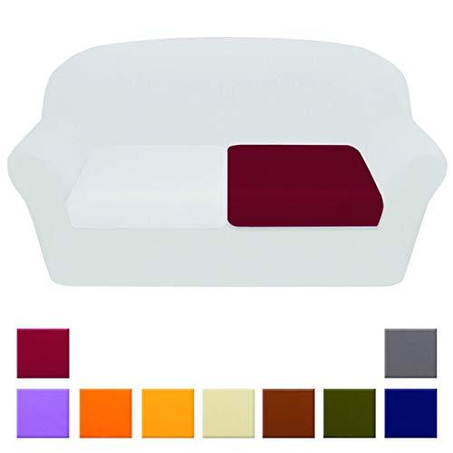 Funda de asiento de sofá universal, de tela elástica, en 3tamaños (1/2/3plazas),...