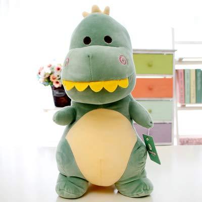 mangege Superweiche kleine Dinosaurier Puppe Plüschtiere Wie niedlich Jungen Version Boy Doll Rag Doll Hold Schlafen Geburtstagsgeschenk 40 cm Grün