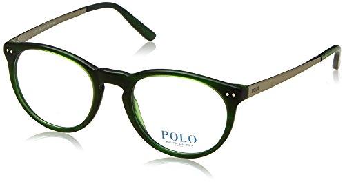 Preisvergleich Produktbild Polo Ralph Lauren - PH 2168, Rund, Acetat, Herrenbrillen, GREEN(5125), 50/20/145