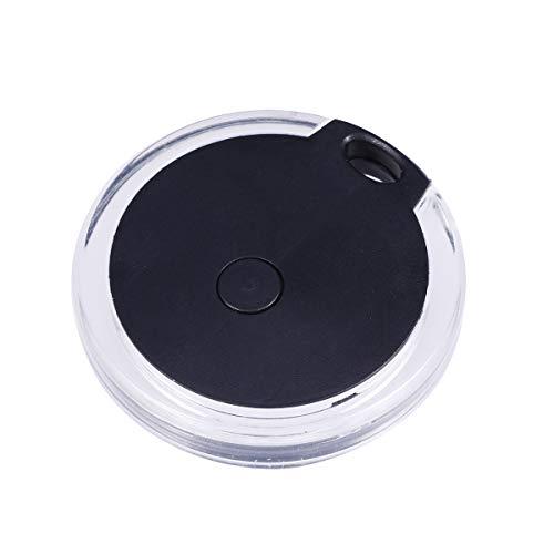 POPETPOP Haustier GPS-Tracker für Hunde, Bluetooth Anti-Lost-Gerät Bluetooth 4.0 Anti-Lost Finder Kinder Anti-Lost Finder (Schwarz)