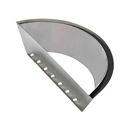 onlyfire Char-basket elliptique en acier inoxydable Charbon Briquet/charbon de bois carburant support pour 55,9 cm bouilloire Grill