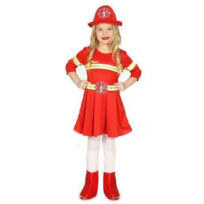 Feuerwehrmann Kostüm Ideen (Schickes Feuerwehr Kostüm für Kinder Mädchen)