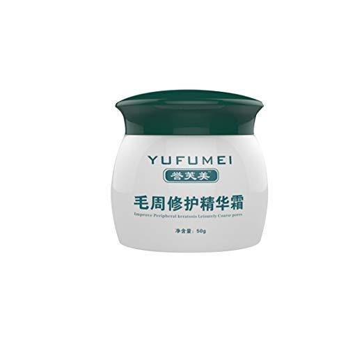 LouiseEvel215 50g natürliche Formel Gesicht körper hautpflege Lotion Haut Reparatur Creme für die heilung von keratosis pilaris/kp/hühnerhaut (Körper-lotion Heilung)
