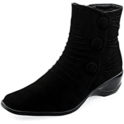 Famous Stars And Straps Women's Black Boot -38