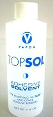 Vapon Topsol Adhesive Remover Solvent 4 Oz by Vapon