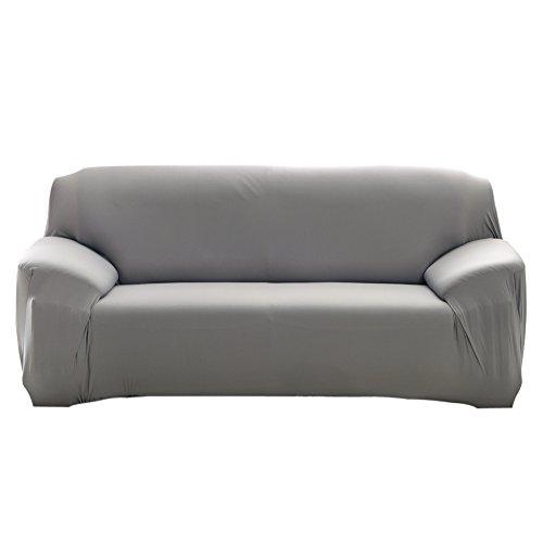 Everpert Moda Funda Protectora Que Estirable Color Puro sofá ...