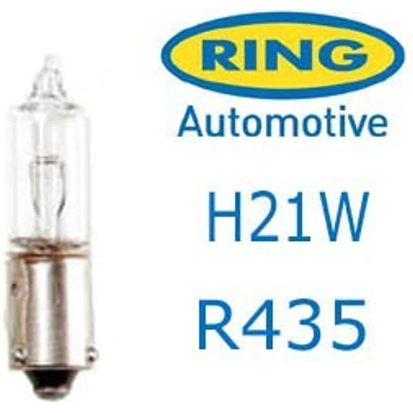 2 x LLB436 BAY9S H21W CAR LIGHT BULBS LAMPS REVERSE INDICATOR BRAKE 12V 21W 436
