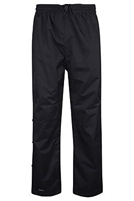 Mountain Warehouse Downpour - Herren Regen Überhosen Kurz Länge Wasserdicht Wander Hose Sport