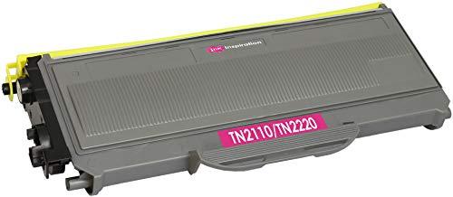 Toner Compatibile per Brother TN2120 TN2110 DCP-7030 DCP-7040 DCP-7045N HL-2140 HL-2150 HL-2150N HL-2170 HL-2170W MFC-7320 MFC-7340 MFC-7440N MFC-7840W | 2.600 Pagine | Nero
