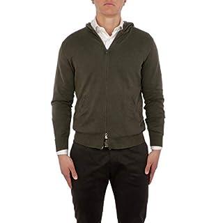 altea Men's 195125045 Green Linen Sweatshirt