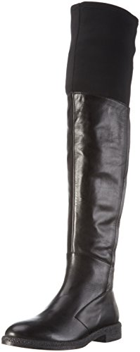 Bruno PremiI1805P - Stivali sopra il ginocchio con imbottitura pesante Donna, colore Nero (Nero + Nero), taglia 35 EU