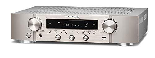 Marantz NR1200 Kompakter Stereo-Netzwerk-Receiver Silber-Gold