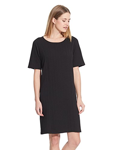 Balsamik - Robe boxy, maille reliefée - femme Noir