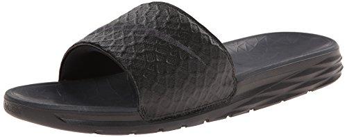 Badeschuhe Benassi Nike (Nike Benassi Solarsoft Slide 2 Herren Dusch- & Badeschuhe, Black (Schwarz/Anthrazit), 42.5 EU)