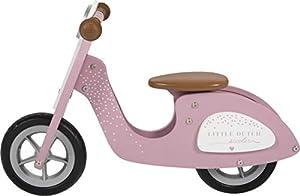 Little Dutch-LD4373 Bicicletas Equilibrio, Multicolor (4373)