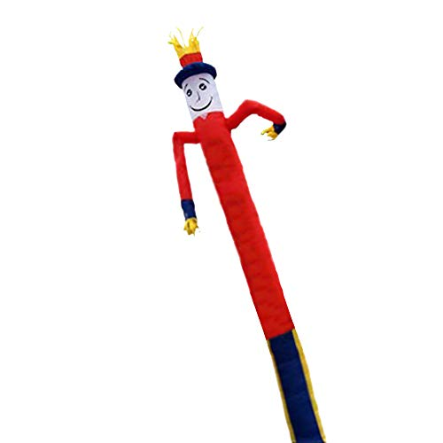 HXY Air Dancers 23Ftinflatable Tube Man, Tubo publicitario Tipo balancín portátil Impermeable, Adecuado para Fiestas, Actividades comerciales (sin soplador),v
